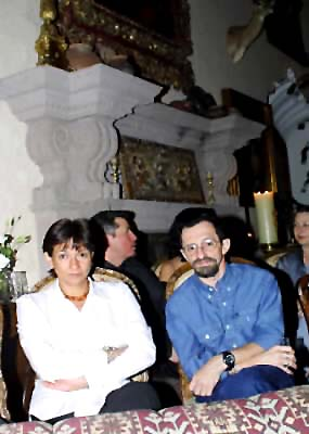 Sylvia Ordóñez y Arturo Marty, 24 de mayo del 2001.
